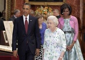 Обама встретился с британской королевой