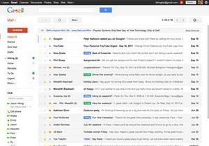 Google обновил интерфейс почтового сервиса Gmail
