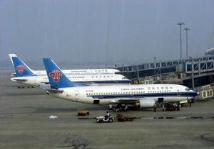 В Китае самолет совершил экстренную посадку из-за сообщения о бомбе