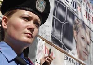 Пенитенциарная служба разрешила двум депутатам Европарламента навестить Тимошенко