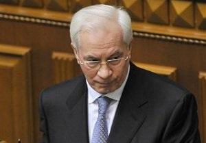 Азаров назвал действующий газовый контракт с Россией уникальным