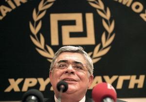 Нацистское приветствие главы ультраправой партии Греции вызвало правительственный скандал