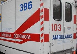 В Полтавской области столкнулся микроавтобус и автомобиль, восемь человек пострадали