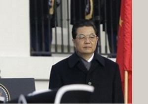 Лидер Китая Ху Цзиньтао сегодня прилетит в Украину