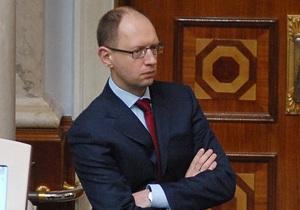 Яценюку отказали в свидании с Тимошенко