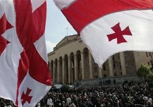 В Грузии отмечают седьмую годовщину Революции роз