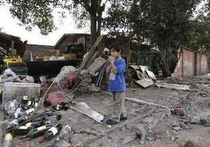 В столице Чили произошло еще одно землетрясение
