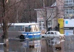 В Кременчуге затопило один из микрорайонов города