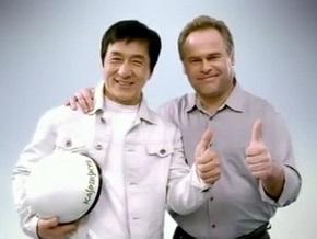 Джеки Чан снялся в рекламе антивируса Касперского