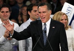 Ромни критикует Обаму за нежелание применять силу против Ирана