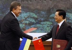 Виктор Янукович пообщался с Ху Цзиньтао