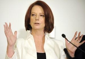 Сексистское меню  возмутило премьер-министра Австралии