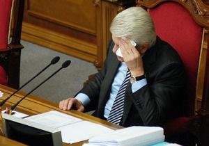 Литвин и Балога заявили, что не давали согласия на вступление во фракцию Партии регионов