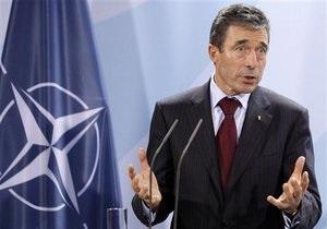 Генсек НАТО: Падение режима Каддафи может произойти в любой момент