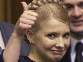 Тимошенко поздравила украинскую сборную с победой над англичанами