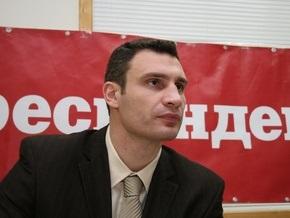 Кличко потребовал срочной отставки Черновецкого