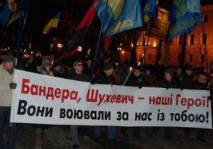 Табачник: Бандера и Шухевич будут навечно запятнаны коллаборационизмом