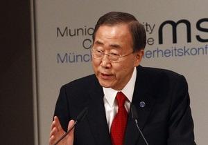 Генсек ООН будет идти на второй срок