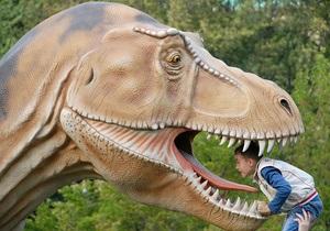 Фотогалерея: Диплодоков не кормить. Мир динозавров на киевских холмах