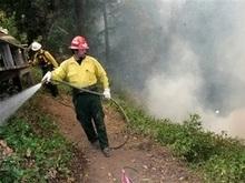 Буш объявил в Калифорнии чрезвычайное положение