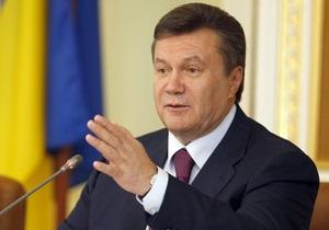 Янукович: На 99% выборы будут в октябре