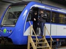 В киевском метро презентовали поезд украинского производства