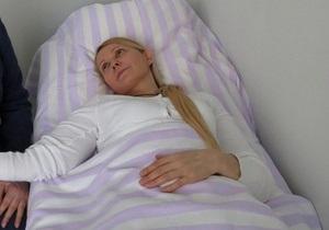 В больницу Тимошенко привезли урну для голосования экс-премьера