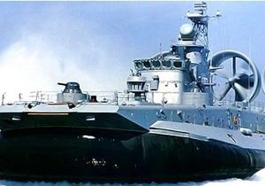 Украина провела испытания крупнейшего проекта корабля на воздушной подушке
