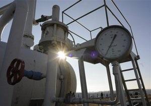 В 2009 году добыча газа в России упала на 12,1%