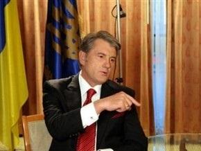 Ющенко уверен во вступлении Украины в Евросоюз