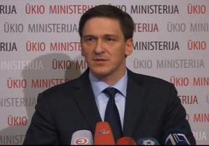 Министр хозяйства Литвы подал в отставку