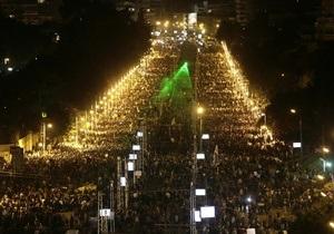 Власти Египта готовы привлечь военных к подавлению беспорядков в стране