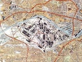 В Британии покажут советскую карту 1974 года с планом захвата Манчестера