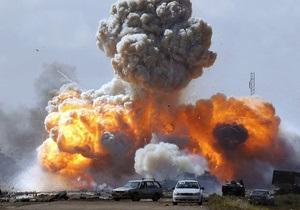 Авиация НАТО нанесла дневной авиаудар по Триполи