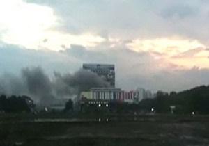 Пожар в Останкино потушен
