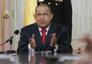 Чавес направил письмо с пожеланием победы Каддафи