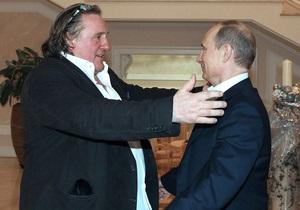Die Welt: Депардье заменил Путину поддержку населения