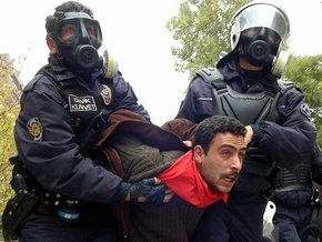 Турецкая полиция разогнала митинг антиглобалистов в Стамбуле