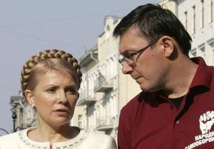Луценко - Янукович помиловал Луценко - дело Тимошенко - Луценко пообещал встретиться с Тимошенко при первой возможности
