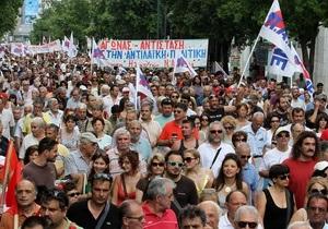 В Греции проходит первая в этом году общенациональная забастовка