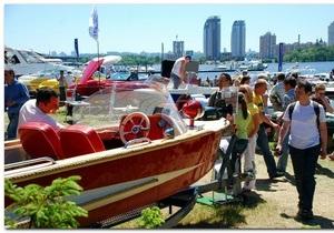 В Киеве прошла первая международная выставка яхт и катеров