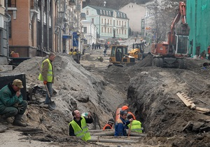 Компания Ахметова планирует завершить демонтаж двух зданий на Андреевском и начать археологические раскопки