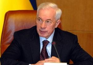 Азаров отчитался о росте ВВП