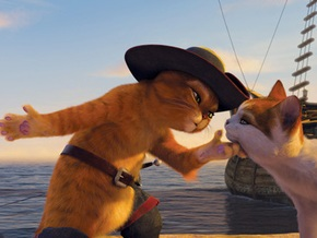 Назначена дата премьеры мультфильма про кота из Шрека