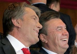 День рождения Ющенко: Янукович открыткой не ограничится