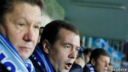 Би-би-си: Миллер пожаловался Медведеву на отбор газа Украиной