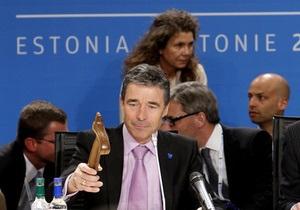 Генсек НАТО заявил, что российская база в Крыму не помешает Украине вступить в Альянс