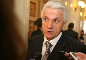 Литвин сомневается в возможности роспуска Рады и отставки Кабмина