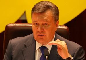 Янукович в Донецке заявил, что начал  капитальный ремонт  страны