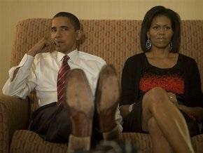 Обама не дает дочерям смотреть телевизор